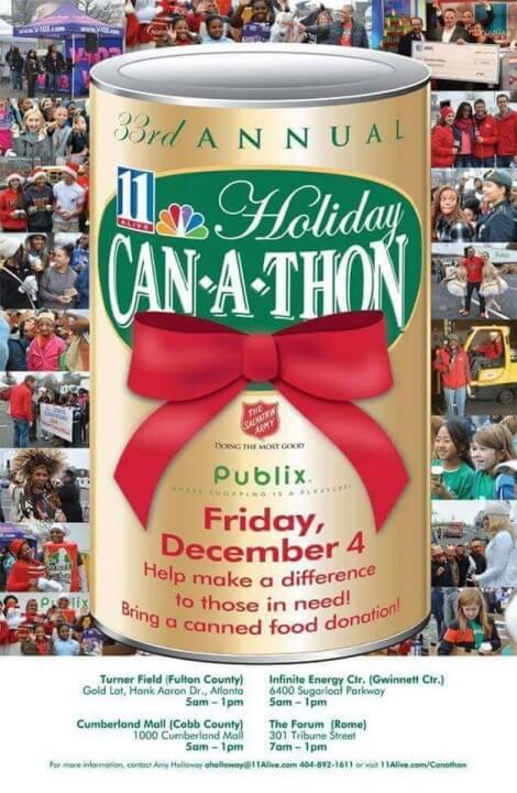 33rd Annual Can-A-Thon Can Food Drive