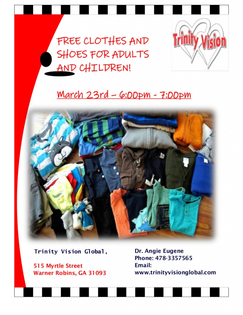 Free Clothes: March 23 2019